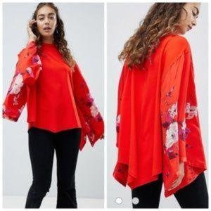 Free People Sydneys Tuesday Kimono Festival Top XS